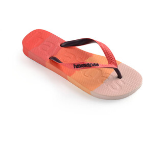 havaianas Top Logomania Multicolor Flips, gradient red crush